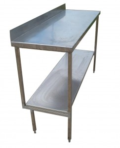 Stainless Steel Bench Hire - Event Hire Brisbane