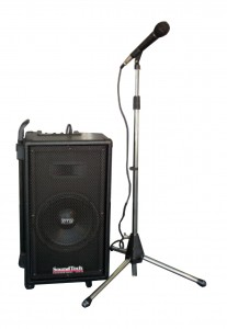 Single Speaker PA System Hire - Sound & Audio Visual Hire - QLD Hire