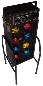 8 Bulb Disco Box Hire - Lighting Hire Brisbane - Queensland Hire
