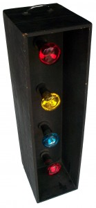4 Bulb Disco Box Hire - Lighting Hire Brisbane - Queensland Hire