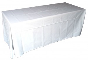 Linen Table Throw Hire - Event Hire Gold Coast
