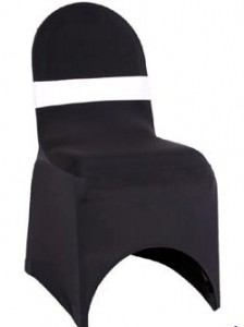 Chair Cover with Coloured Sash Hire - Event Hire Gold Coast