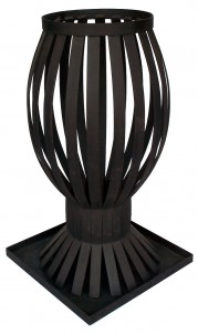 Charcoal Brazier Hire - Hourglass - Event Hire Gold Coast