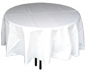 Round Linen Cloth Hire (2.7m or 3m) - Event Hire Gold Coast