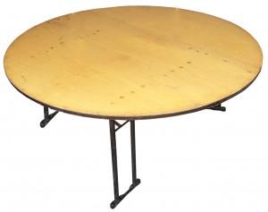 Round Table Hire (1.8m) - Exhibition Hire Sunshine Coast