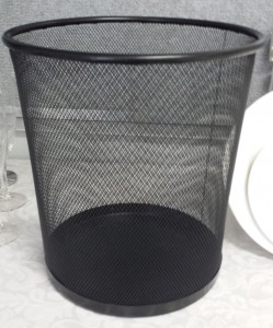 Waste paper basket - Event Hire Gold Coast