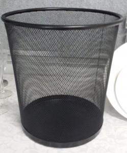 Waste paper basket - Event Hire Gold Coast