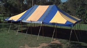 Peg & Pole Marquee Hire (MQ18E) - Marquee Hire Gold Coast - Queensland Hire