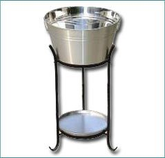 Silver Drink Tub - Ideal for party hire