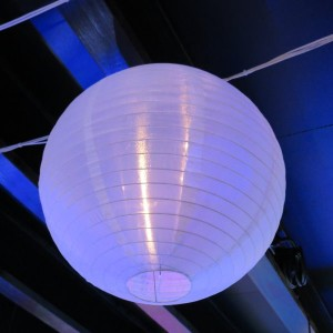 Silk Lantern Light Hire - Lighting Hire Brisbane - Queensland Hire