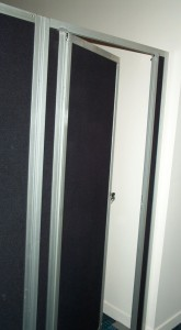 Vertical Panel Lockable Door - Event Hire Gold Coast