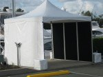 3m x 3m Spring Top Marquee with vertical panels